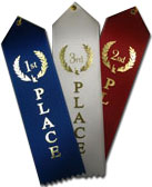 Carded Traditional Place Ribbon